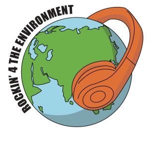 Rock for the Environment logo