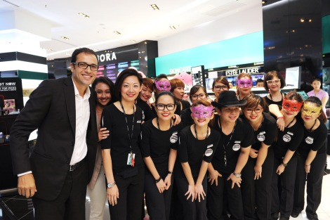 Sephora's maiden store in Penang is at Gurney Paragon Mall