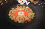 Caption: Year of the Dog Prosperity Toss Yee Sang by RUYI&Lyn (photo courtesy DropKL.com).